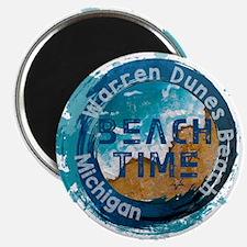 Michigan - Warren Dunes Beach Magnets