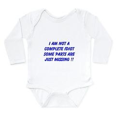 parts missing merchandise Long Sleeve Infant Bodys
