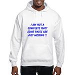 parts missing merchandise Hooded Sweatshirt