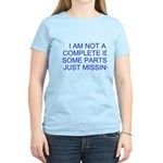 parts missing merchandise Women's Light T-Shirt