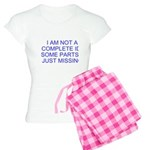 parts missing merchandise Women's Light Pajamas