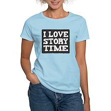 iLoveStoryTimegrey T-Shirt