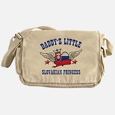 Daddy's Little Slovakian Princess Messenger Bag