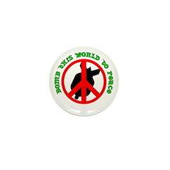 PEACE BOMB Mini Button (10 pack)