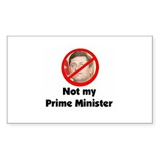 "Harper ""Not My Prime Minister"" Decal"