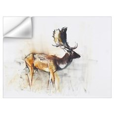 Magnificent Fallow Buck, 2006 (charcoal Wall Decal