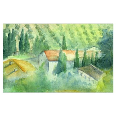 Marcelliana, Tuscany Framed Print