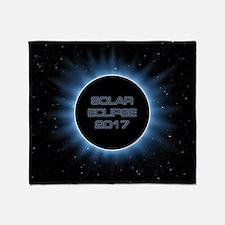 Solar Eclipse 2017 Throw Blanket