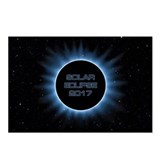 Solar eclipse 2017 Postcards