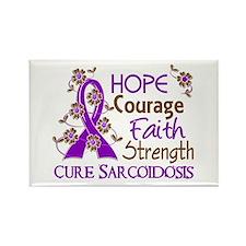 Hope Courage Faith Sarcoidosis Shirts Rectangle Ma