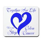Stop Colon Cancer Mousepad
