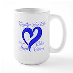 Stop Colon Cancer Large Mug