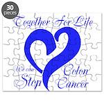 Stop Colon Cancer Puzzle