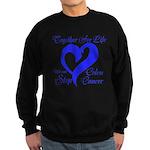 Stop Colon Cancer Sweatshirt (dark)