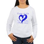 Stop Colon Cancer Women's Long Sleeve T-Shirt