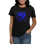 Stop Colon Cancer Women's Dark T-Shirt