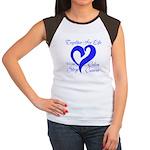 Stop Colon Cancer Women's Cap Sleeve T-Shirt