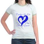 Stop Colon Cancer Jr. Ringer T-Shirt