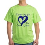 Stop Colon Cancer Green T-Shirt