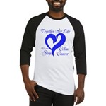 Stop Colon Cancer Baseball Jersey
