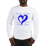 Stop Colon Cancer Long Sleeve T-Shirt