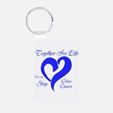Stop Colon Cancer Keychains