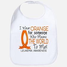 Means World To Me 1 Leukemia Bib