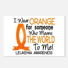 Means World To Me 1 Leukemia Postcards (Package of