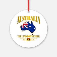 """""""Land Down Under"""" Ornament (Round)"""