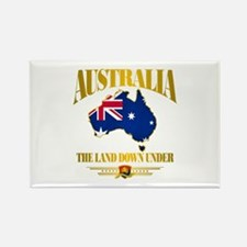 """Land Down Under"" Rectangle Magnet"