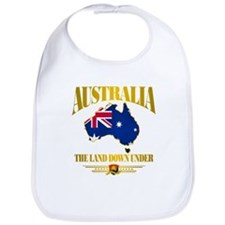 """Land Down Under"" Bib"