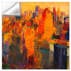 Manhattan, 2011 (oil on canvas) Wall Decal