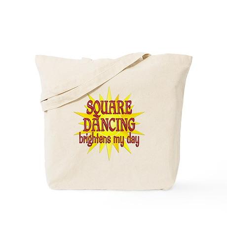 Square Dancing Tote Bag