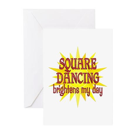 Square Dancing Greeting Cards (Pk of 10)