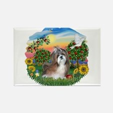 BrightCountry-ShihTzu#8 Rectangle Magnet