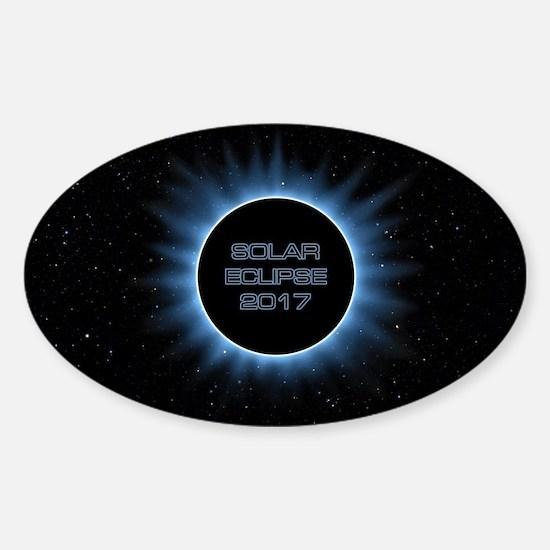 Solar Eclipse 2017 Sticker (Oval)