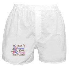 Hope Courage Faith SIDS Shirts Boxer Shorts