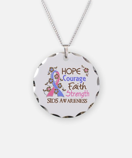 Hope Courage Faith SIDS Shirts Necklace