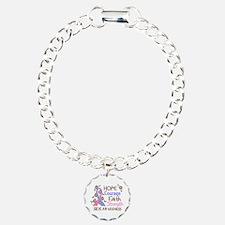 Hope Courage Faith SIDS Shirts Bracelet