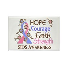 Hope Courage Faith SIDS Shirts Rectangle Magnet