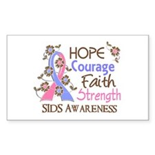 Hope Courage Faith SIDS Shirts Decal