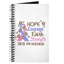 Hope Courage Faith SIDS Shirts Journal