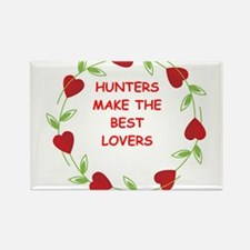 hunters Rectangle Magnet
