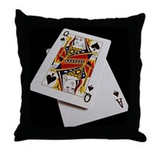 Cards Throw Pillow