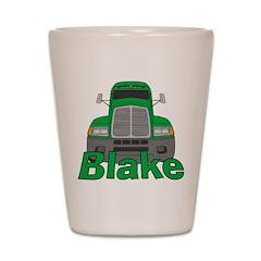 Trucker Blake Shot Glass