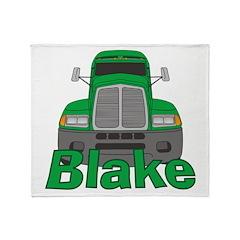 Trucker Blake Throw Blanket