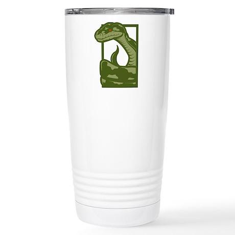 Snake Stainless Steel Travel Mug