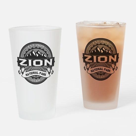 Zion Ansel Adams Drinking Glass