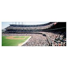 Panoramic view of a stadium, Pac Bell Stadium, San Poster