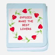 gypsies baby blanket
